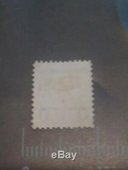 RARE Benjamin Franklin 1 cent stamp green New York NY Postmark