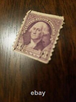 RARE George Washington 3 Cent Stamp. 6-16-1932 Issue