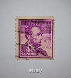 RARE US Abraham Lincoln 4 Cent Stamp 1965