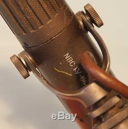RCA Model BK-5B Microphone Ribbon Formerly Owned by NBC TV Network Stamped 1966