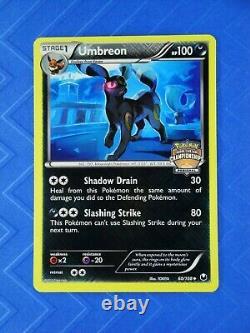 REGIONALS PROMO UMBREON Reverse Holo Pokémon Dark Explorers 60/108 NM