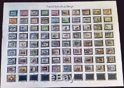 RW1 to RW81 FEDERAL DUCK STAMPS Silver Collection Unsigned Mat to 2023 $2500SRP
