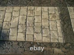 Roman Cobble Concrete Stamp by Walttools (Floppy/Flex)