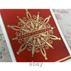 STAMPTEMBER 2021 Gina K Shimmering Snowflakes Stamps and Coordinating Dies