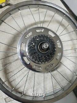 Schwinn Stingray Krate Pea Apple Etc 5 Speed Chrome Rear Rim Stamped S-2 L$$k