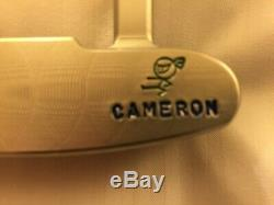 Scotty Cameron Rare Masterful 009 with Wasabi Warrior stamps on front and back