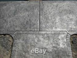 Slate Seamless Texture Stamp Mat Skin 3' Concrete Cement Stamping Tools NEW