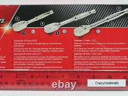 Snap On Tools NEW SEALED PACKAGE RAT80 1/4, 1/2, 3/8 Ratchet Stamped USA