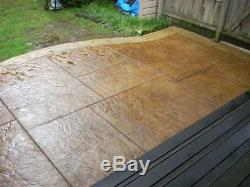 Southwest Slate 4 pc. (3 x 3 ft) Seamless Skin Concrete Stamp Set