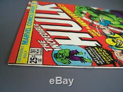 THE INCREDIBLE HULK #181 (1974) Wolverine 1st appearance, Ungraded, with MVS stamp