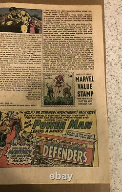 THE INCREDIBLE HULK #181 1st Full App Of Wolverine Complete with MVS Stamp