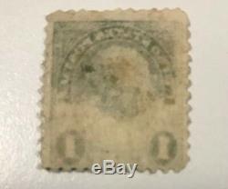 The Rare 1 Cent Benjamin Franklin Stamp #594/#596