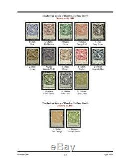 The Revenue Stamps of Persia, 3rd Edition, Volumes 1 and 2, 2019