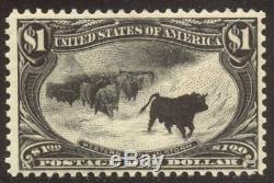 U. S. #292 Mint BEAUTY 1898 $1.00 Trans-Mississippi