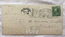U. S. Postage Post Card Hersey Park With1902 Stamp One Cent Benjamin Franklin Rare