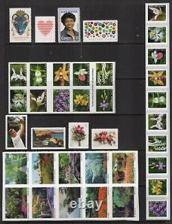 US 2020 COMPLETE NH COMMEMORATIVE + DEFINITIVES YEAR SET 115 Stamps-FreeShip USA
