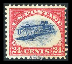 US #C3a 24¢ INVERTED JENNY ERROR PETER WINTER FORGERY