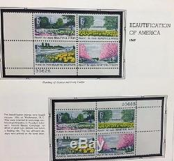 US Commemorative Stamp Collection Air Mail All Plate Blocks