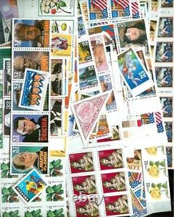 US Discount Postage 100 x $1.30 Mint Stamps for International 1oz, Below Face
