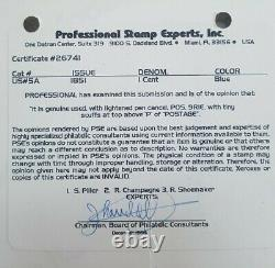 US Sc #5A type Ib Plate position 9R1e with PSE certificate VF++