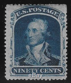 US Scott #39 MOGph 2012 PSAG Certificate SMQ $3250