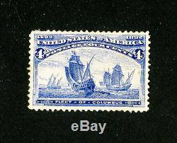US Stamps # 233a VF OG hinged several slight faults rare Scott Value $17,500.00