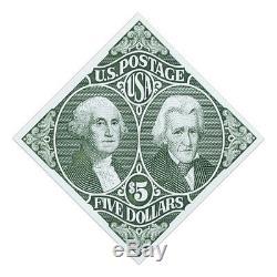 USPS New $5 Washington and Jackson Stamp Sheet of 20