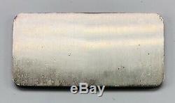 Ultra Rare HOOVER MINT/MINING Vintage 1 oz Silver Bar. 999 Fine OG Stamp