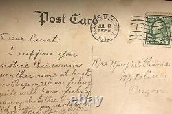 Used 1 Cent Washington Stamp Rare Perf