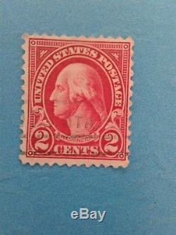 Used 2 Cent US Postage Stamp George Washington