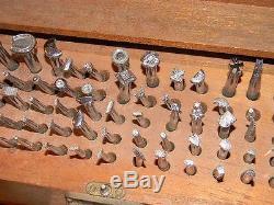 Vintage Craftool Co Usa Leather Stamping Saddle Making Tools 130