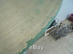 VTG. ZILDJIAN 22 RIDE CYMBAL LATE 60's 1 1/2 STAMP 3134g SOUND FILE-NICE