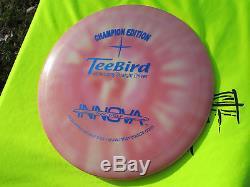 Very Rare Mint innova Champion Edition TL TeeBird Golf Disc C. E. Nice Blue Stamp