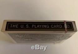 Vintage Bicycle Rider Back 808 Playing Cards Blue Tax Stamp New Sealed Deck