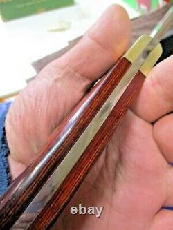 Vintage Buck USA Kalinga Hunting Knife, No Date Code Stamp, With Sheath