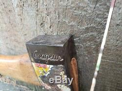 Vintage NORLUND Rare VOYAGEUR Stamped Hudson Bay Axe Hatchet Made In USA 1 lb