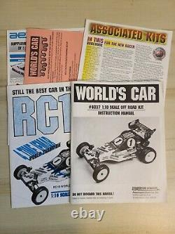 Vintage OG 1994 RC10 Worlds Car Team Associated 6037. C Stamp, Not a Re-Release