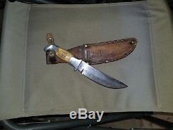 Vintage RH Ruana Knife Early M Stamp