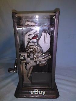 Vintage Schermack 10 Cent Postage Stamp Vending Machine, Visible Coin Operated