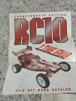 Vintage TEAM ASSOCIATED RC-10 Championship Edition A Stamp USA WITH REMOTE