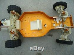 Vintage Team Associated A Stamp RC10 1/10 RC Buggy Car with Andys Painted Body