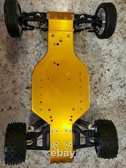 Vintage Team Associated RC10 A Stamp Gold Pan, Andy's, Alloy Pargu & Dhawk