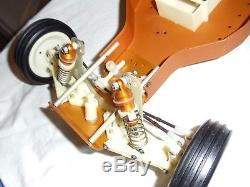 Vintage Team Associated championship RC10 gold pan buggy A STAMP CHASSIS