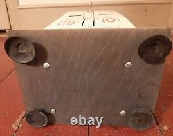 Vintage U. S. Postage Stamp Machine Coin Operated with Mechanism 25¢-10¢ with key