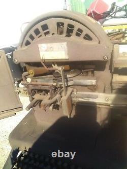 WW2 Graphotype dog tag Stamping Machine Model 6383 Addressograph Multigraph work