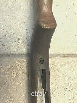 WW2 M1 Carbine Stock, Inland, Original Cartouche, No foreign stamps or markings