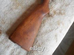 WW2 USGI M-1 garand rifle wood replacement stock & matching handguards P stamp