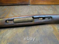 WWI 1903 Springfield Finger Groove Rifle Stock C. 1917 AAB & P In Circle stamped