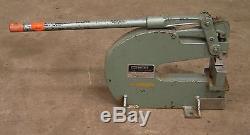 Whitney No 92 10 Ton Bench Mount Punch for Sheetmetal Die Press Roper Stamping