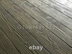 Wood Concrete Stamp. Wood texture Stamp Mat. Set of 5 mats 9 Plank SM 5000 S